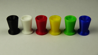 Flanged Cup Knobs